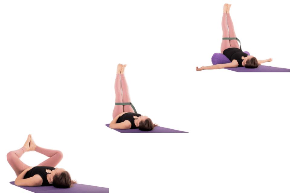 Si vous sentez que votre énergie n'est pas au top, Viparita Karani, les jambes au mur, est sans aucun doute la posture recommandée.